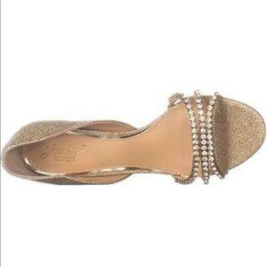 Jewel Badgley Mischka Jean Evening Sandals